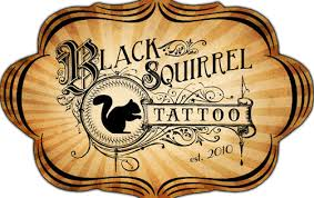 black squirrel tattoo black squirrel tattoo custom tattoo