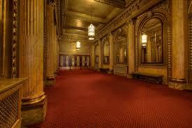 toronto winter garden theatre hallway hdr creme