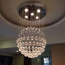Ball Chandelier Lights Font B India B Font Modern Minimalist Fashion Austrian Crystal