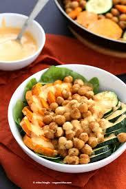 shawarma chickpea sweet potato buddha bowl vegan richa