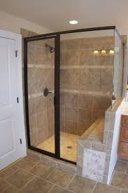 shower stalls with seat full size of walk in showers with seats