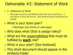 project deliverables version 3 10 25 2005 note this document