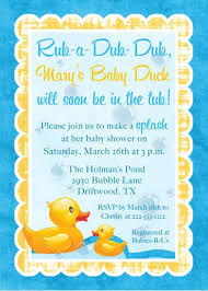 rubber ducky themed baby shower rubber duck baby shower invitations christmanista