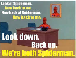 Spiderman Table Meme - image 132900 60 s spider man know your meme