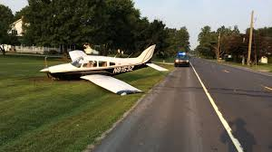 Delaware How Does Light Travel images Plane crash lands in delaware pilot passenger escape unharmed jpg