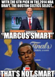 Celtics Memes - nba memes on twitter marcus smart to the celtics rt if rajon
