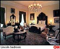 white house bedroom allpolitics white house sleepovers feb 25 1997