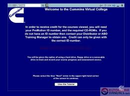 cummins virtual college training full auto repair manual forum