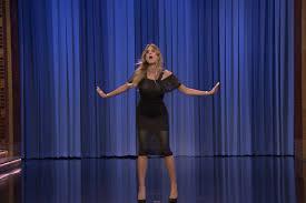 Curtain Dancing Heidi Klum Jimmy Fallon Tonight Show Dance Battle Today U0027s News