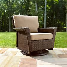Glider Porch Ty Pennington Style Parkside Swivel Outdoor Chair In Tan Sears