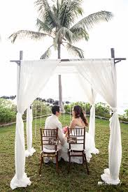 wedding arches bamboo 4 post bamboo wedding arch archives hawaiian style event rentals