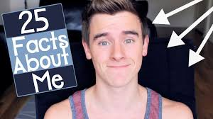 25 facts about me connor franta youtube