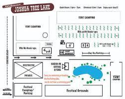 Joshua Tree Campground Map Joshua Tree Lake Rv And Campground