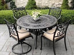 How To Restore Metal Outdoor Furniture by Patio Furniture Newght Iron Sets Family Decorations Inside Restore