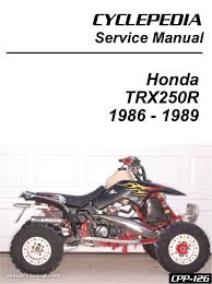 1988 trx250r wiring diagram wiring diagram and schematic