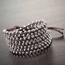 beaded silver bracelet images Beaded wrap bracelets okajewelrybracelets jpg