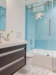 blue tiles bathroom ideas blue glass bathroom tile rothdecor com