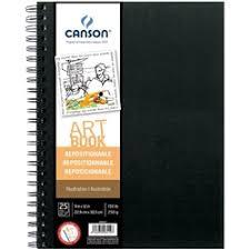 sketch pad canson universal 9x12 65lbs 100sh spiral cn100510851