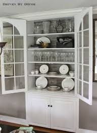 Cabinet For Dining Room 14 Ways To Decorate Like A French Woman Country Cupboard White