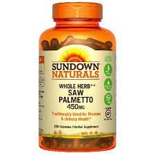 sundown saw palmetto whole herb 250 ct meijer com