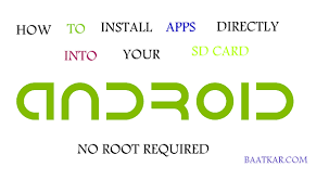 android install apps to sd card how to install apps directly into your sd card no root digital