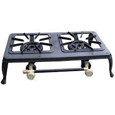 Propane Gas Cooktop Dual Propane Burner King Kooker 54 000 Btu Propane Gas Dual Burner
