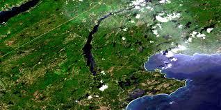 Satellite Map Of Usa by Mira River Ns Free Satellite Image Map 011f16 At 1 50 000