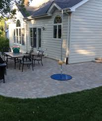Belgard Fire Pit by Belgard Dublin Cobble Paver Patio Plus Sitting Wall And Firepit