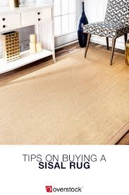 Rug On Laminate Floor The Best Way To Use Sisal Rugs In Your Home Overstock Com