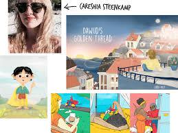 designer freelancer freelance with illustrator and graphic designer careshia steenk