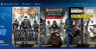 ubisoft offering unique ps discounts on playstation store