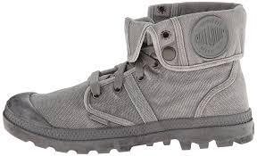 palladium pallabrouse baggy men desert boots ankle grey titanium