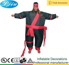 selling inflatable ninja costume suit halloween cosplay