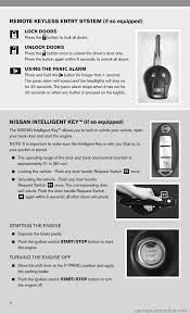 nissan sentra key light blinking nissan cube 2010 3 g quick reference guide
