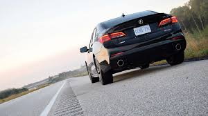 2018 acura tlx a spec v6 test drive review