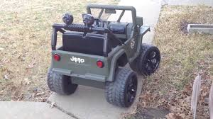 barbie jeep power wheels barbie jeep conversion to lifted military jeep youtube