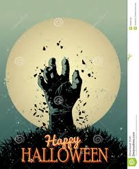 halloween zombie poster stock photos image 34930793
