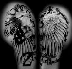 lettering skull wings by westfall
