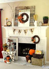 fall decorations for fireplace mantel part 22 fall mantel
