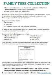 index to family trees nifhs org