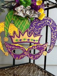 mardis gras decorations mardi gras door hanger mardi gras sign mardi gras door sign