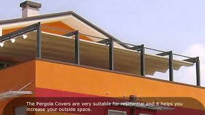 pergola roof pergola covers youtube