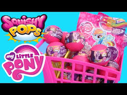 My Little Pony Blind Bag Wave 2 Mlp Squishy Pops Wave 2 Surprise Capsules Cutie Mark Crusaders