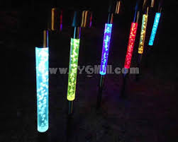multi colored solar garden lights outdoor solar power color changing led lawn garden lights sygmall