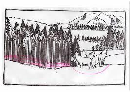 the ways of the wolf u2013 illustration process jonathan woodward