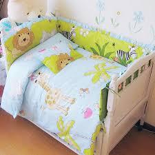 Baby Bedding Crib Set 2017 New Infant Baby Bedroom Nursery Bedding Crib Set Zoo