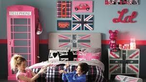 d馗o chambre angleterre thème angleterre idée chambre ado