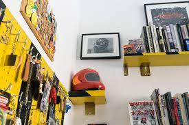 design studio panic room creates new 80s mechanics garage architecture design interior design panic room