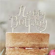 happy birthday cake topper happy birthday wooden cake topper boho