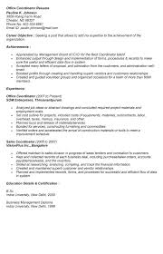 Office Coordinator Resume Examples by Resume Coordinator Sales Coordinator Lewesmr